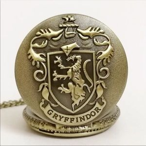 Jewelry - Gryffindor Harry Potter watch Necklace ! New !